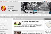 Oficiální stránky obce Vranovice.