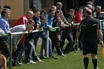Velké Pavlovice (v červeném) v jarním derby přestřílely Bořetice.