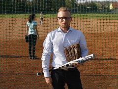 Předseda softbalového oddílu Locos Břeclav Tomáš Křivánek.
