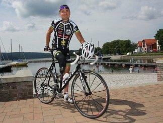 Šestinásobný paralympijský vítěz cyklista Jiří Ježek. Ilustrační foto.