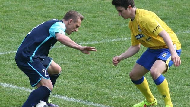 Dlouho vyrovnaný zápas MSFL mezi Břeclaví a Slavií Orlová-Lutyně s řadou nepřesností na obou stranách rozhodl v 64. minutě přesnou hlavičkou Vladimir Smirnov. Zajistil tak pro svůj klub první výhru v jarní části sezony.