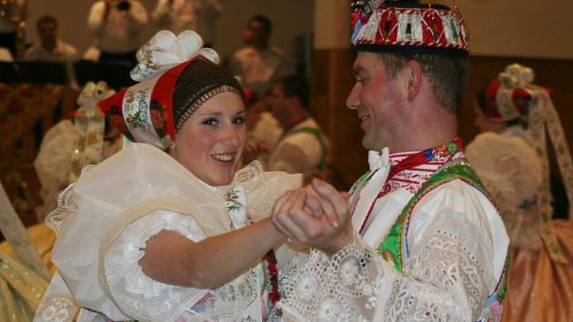 Krojový ples v Kosticích.