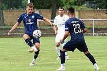 Lanžhotští fotbalisté prohráli v přípravě se Slováckem B 1:2.