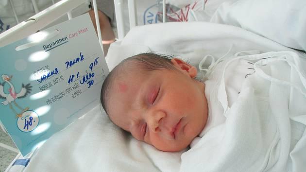 Jakub Polák, Pouzdřany, 18. ledna 2020, 9.15, Nemocnice Břeclav, 50 centimetrů, 3330 gramů.