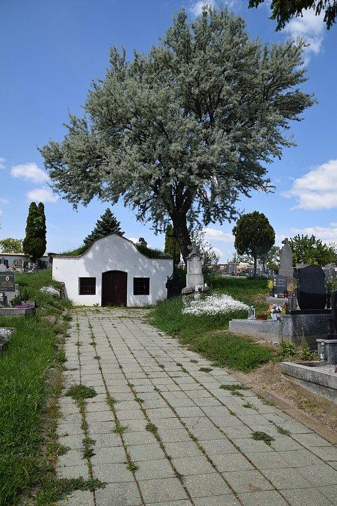 Bulharský hřbitov s márnicí