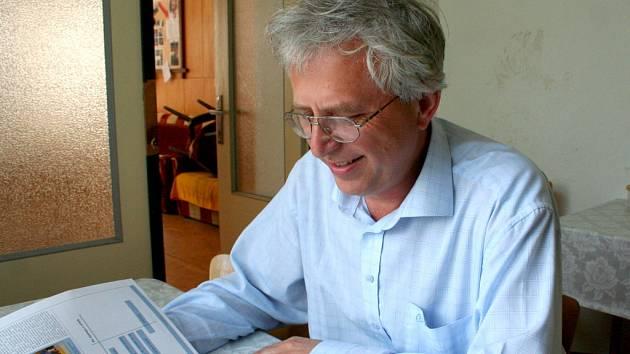 Vězeňský pastor Jan Majer.