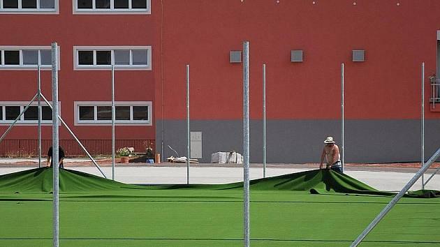 Sportovní areál. Ilustrační fotografie.