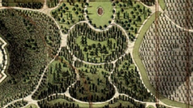 Lichtenštejnové si potrpěli na módní trendy. Oblíbený byl například Orient. Svědčí o tom i půdorys ve tvaru sedícího Buddhy části zahrady zámečku Belveder.