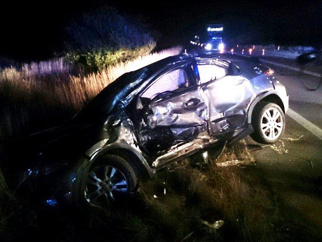 Při nehodě uMoravské Nové Vsi se zranilo osm lidí.
