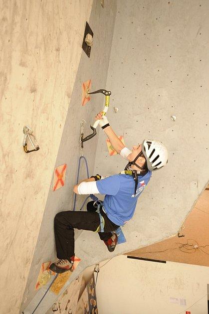 Břeclavský sportovní lezec Pavel Krůtil.