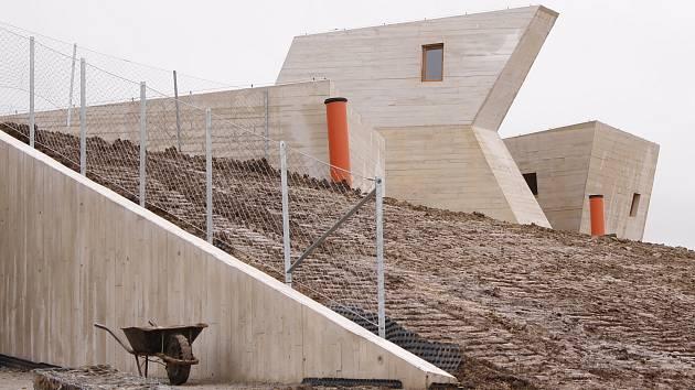 Výstavba unikátního pavlovského archeoparku. Ilustrační foto.