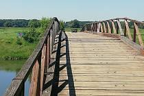 Most za Pohanskem už je opět přístupný lidem.