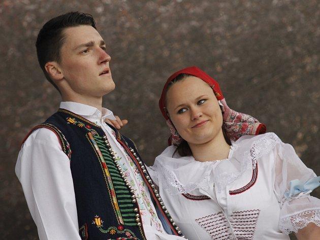 Pozornost návštěvníků si vysloužili zruční řemeslníci i nadaní muzikanti a tanečníci.