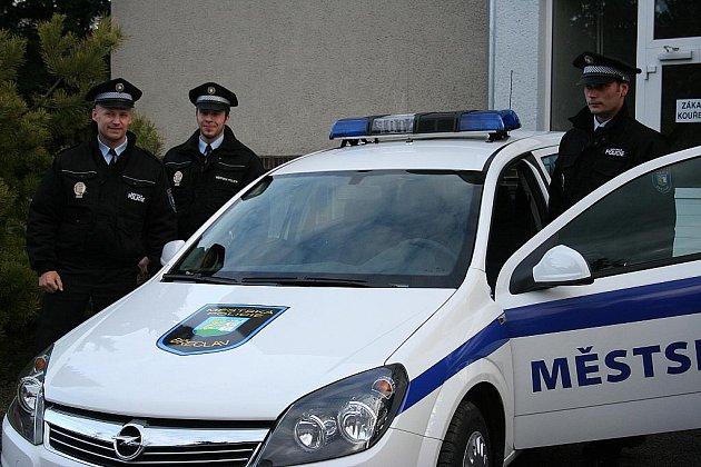 Břeclavští strážníci. Ilustrační foto.