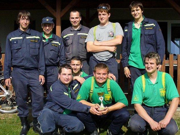 Sbor dobrovolných hasičů z Velkých Němčic.