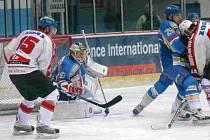 Hokejisté Břeclavi porazili Žďár vysoko 5:1.