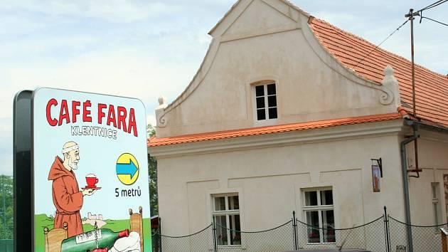 Café Fara v Klentnici.