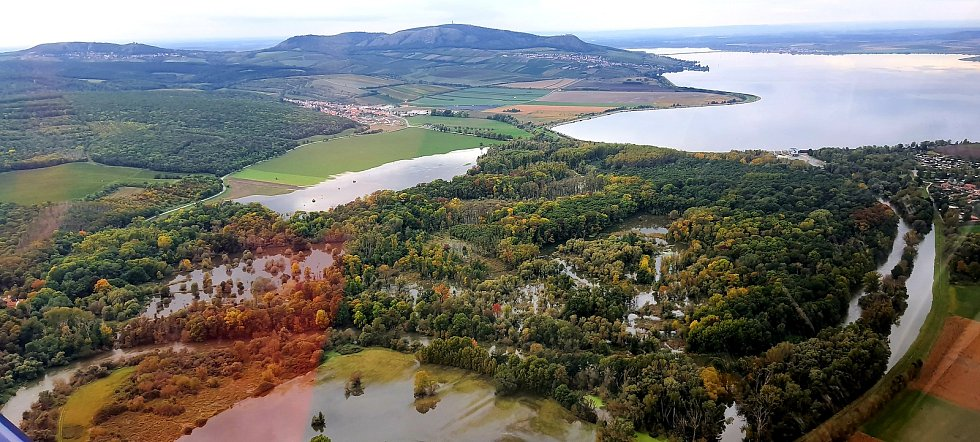 Národní přírodní rezervace Křivé jezero u Milovic.