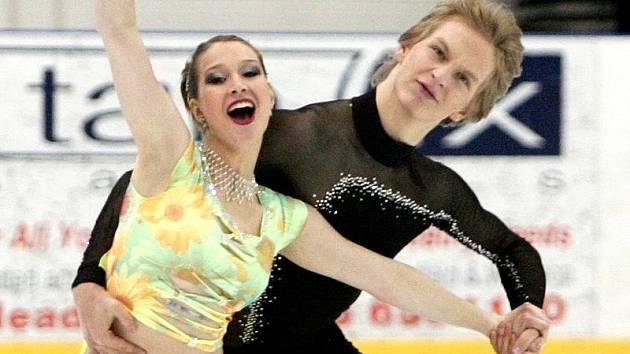 Lucie Myslivečková ještě s bývalým partnerem Matějem Novákem.
