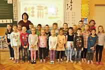 Žáky 1. třídy Základní školy v Moravské Nové Vsi učí Vlastimila Matúšková