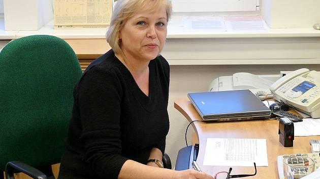 Magdaléna Sedláková už zůstala ve své kanceláři sama.