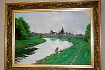 Památky, folklorní tradice i okolní příroda Břeclavi. Hlavní náměty výtvarných děl, které od čtvrtka zdobí břeclavskou Galerii 99.