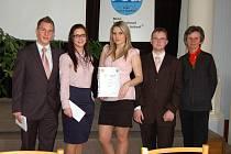 Studenti břeclavské obchodní akademie uspěli ve finále celostátní soutěže Ekonomický tým 2011, které se konalo v Hodoníně.