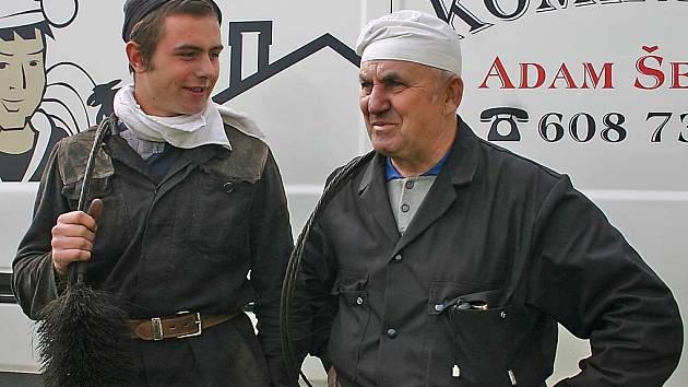 Adam Šebesta z Kurdějova (vlevo)