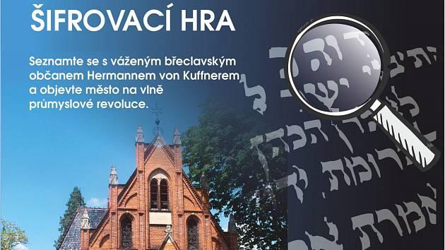Nová šifrovací hra Židovská Břeclav.