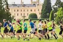 V Lednici si mohou běžci zaběhat v atraktivním prostředí místního areálu.