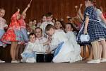Na oslavě Mezinárodního dne žen vystoupil dětský národopisný soubor Břeclavánek.