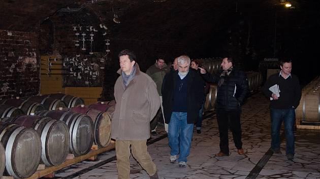 Vinařství roku: odborníci objížděli finalisty. Ilustrační foto.