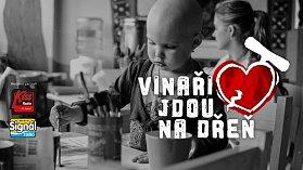 Při akci Vinaři jdou na dřeň se zájemci mohou zapsat do registru dárců kostní dřeně a darovat vzorek krve. V sobotu 5. května ve Velkých Pavlovicích.