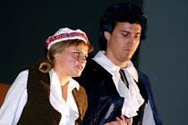 Herci z divadelního souboru Bedřicha Kaněry.