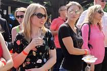 Slavnosti města se uskutečnily od pátku do neděle v Mikulově. Součástí víkendových oslav byly také Mikulovské vinné trhy, kde například soutěžící tahali víno koštýřem na čas.