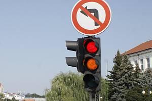 V Břeclavi budou testovat takzvanou blikající zelenou. Jako v první městě v republice.