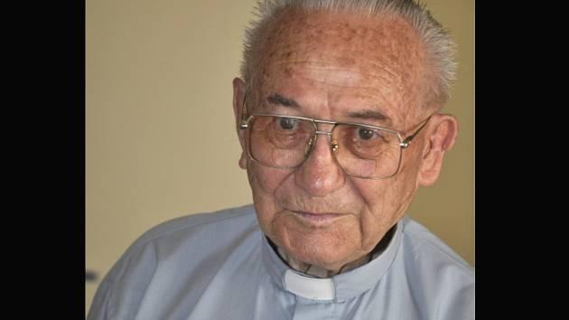 Zesnulý monsignor Václav Fišer.