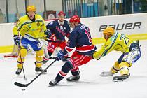 Břeclavští hokejisté podlehli Karviné.