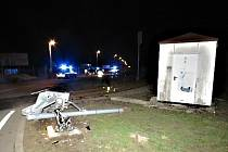 Opilý muž přišel po nehodě o řidičský průkaz.