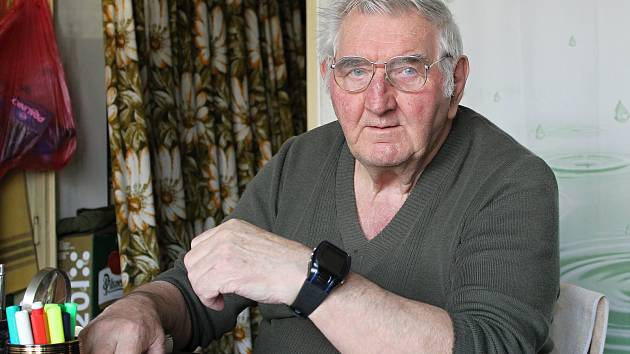 SOS hodinky využívá i Jindřich Goldhammer z Břeclavi.