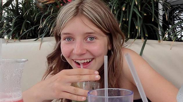 Matematika je pro patnáctiletou školačku Moniku Dufkovou z Bořetic vášní.