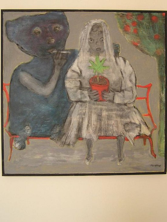 Výstava prací autora a galeristy Milana Novotného.
