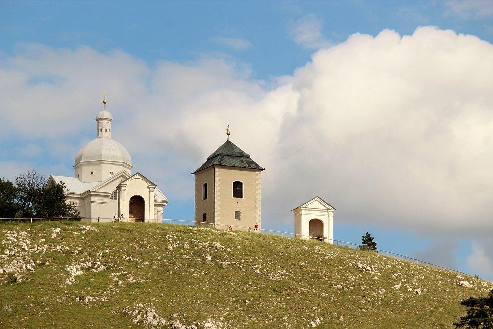 Svatý kopeček v Mikulově.