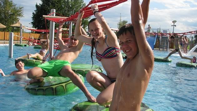 Pasohlávecký Aqualand Moravia nabízí i atrakce pro děti. Ilustrační foto.