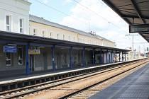 Vlakové nádraží v Břeclavi. Ilustrační foto.