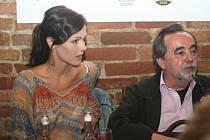 Jana Doleželová. a Dušan Klein