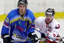 Peter Beneš (vpravo) ještě v břeclavském dresu.
