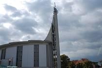 Hustopečský kostel.