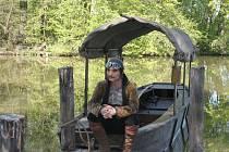 Filmový štáb obsadil na pár dní zámecký park v Lednici. Důvodem bylo natáčení nové pohádky s názvem Šťastný smolař.