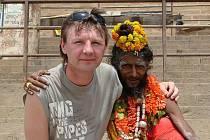 Lukáš Reichmann v Indii.